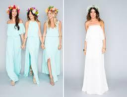 me your wedding dress me your mumu bridesmaids collection a bridal dress