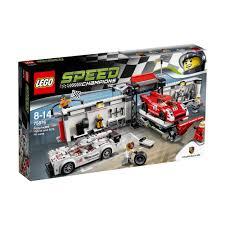 lego porsche box lego speed champions porsche 919 hybrid u0026 pit lane 75876 75 00