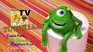 Monsters University Halloween by Come Fare Mike Wazowski In Pasta Di Zucchero Youtube
