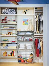 cleaning closet ideas sliding baskets for closets