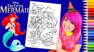 coloring ariel halloween mermaid coloring prismacolor