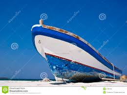 old fishing boat on a caribbean beach royalty free stock images