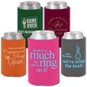 wedding personalized koozies wedding related designs wedding koozies bachelorette party