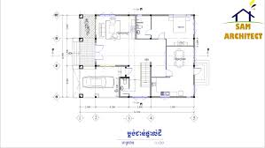 villa design idea 10 5m x14 5m autocad sketchup and lumion