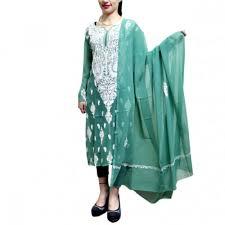 pista colour buy kashmiri pista green colour aari work georgette kurti with