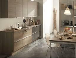 cuisine beige et bois cuisine taupe et bois des photos et charmant cuisine taupe et noir