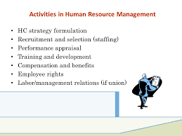 strategic human resource management ppt download