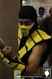 Scorpion Costume Cosplay Denver Comic Con 2013 Kitana And Scorpion From Mortal