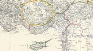 Map Turkey File 1861 Adana Detail Map Turkey In Asia Asia Minor And