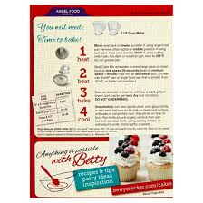 betty crocker angel food white cake mix 16oz target