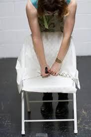 Metal Folding Chair Covers Como Hacer Fundas Para Sillas Folding Chairs Chair Slipcovers