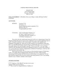 Resume Template High The 25 Best High Resume Template Ideas On My
