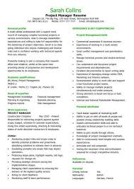 construction project manager resume resume template 2017
