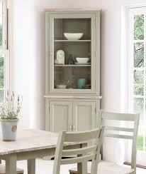 decoration white wall display cabinet black glass display
