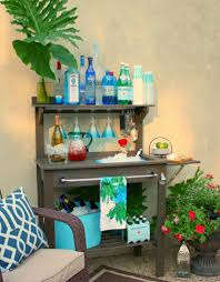 Patio Buffet Server by Outdoor Buffet Table Using A Side Table Patio Bar Bench And Patios