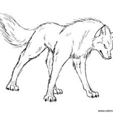 free printable wolf coloring pages kids cartoon wolf coloring