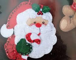 felt ornaments etsy