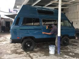 volkswagen vanagon blue live the van life reviews
