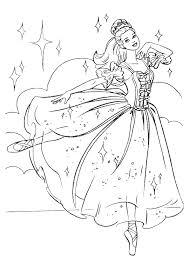 coloriage princesse a imprimer barbie