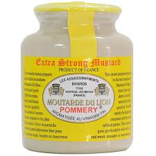 gourmet mustard pommery strong mustard moutarde du lion gourmet food store