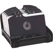 Rolodex Desk Accessories Rolodex Black Mesh Card File Quill