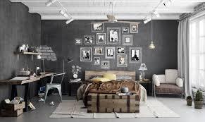 chambre style industriel chambre style industriel en 36 idées de chic brut authentique