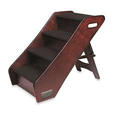 Dog Steps For High Beds Animal Planet Wooden Pet Stairs Bed Bath U0026 Beyond