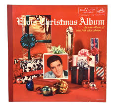 christmas photo album lot detail 1957 em elvis christmas album em with gold