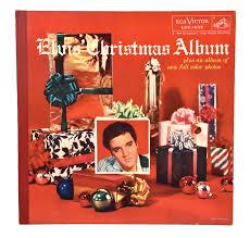 christmas photo album lot detail 1957 em elvis christmas album em with gold