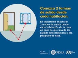 Fire Evacuation Plan Template For Home by Home Fire Escape Plan Outreach Materials