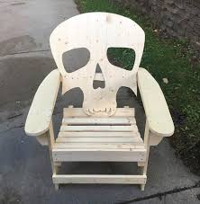 Wooden Skull Chair Products Offered By Ed U0027s Outdoor Furniture U0026 Games