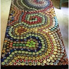 beer cap table top bottle cap table top brewery design pinterest bottle cap table