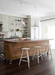 open kitchen with island wooden 60 inch island with wheels and white seating for open kitchen