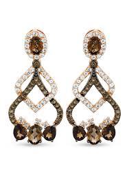 Ralph Lauren Chandelier Fashion Earrings Le Vian Chocolate Quartz Chandelier Earrings In 14k Strawberry