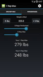 Calculate Your Max Bench 1 Rep Max Calculator Android Apps On Google Play