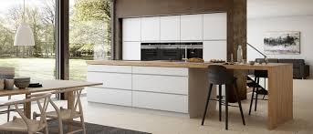 cuisine plan de travail bois plan de travail en bois massif chaleureux moderne et pratique