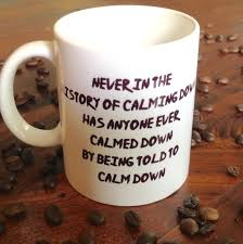 best mugs for coffee calm down funny mugs sarcastic mug mug for the office gift for