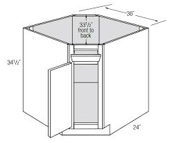 corner kitchen sink base cabinets dsb36 1tilt diagonal sink base cabinet with tilt out