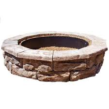 Stone Fire Pit Kit by 33 Best Fire Pits Images On Pinterest Fire Pits Landscaping