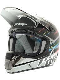 thor motocross helmets thor black silver 2015 verge stack mx helmet thor