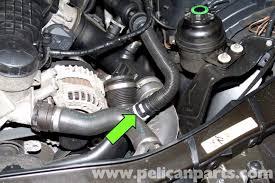 bmw 325i alternator bmw e90 alternator replacement e91 e92 e93 pelican parts diy