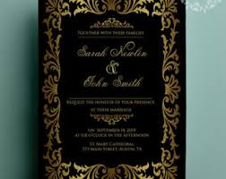 gatsby wedding invitations great gatsby wedding etsy