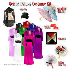 Size Halloween Costumes 3x 4x Size Geisha Costume Ebay