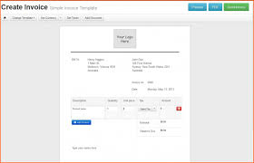contractor invoice templates free create template myob with date