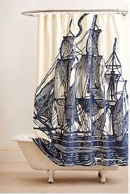 Nautical Shower Curtains Nautical Shower Curtains Foter