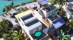 waterfront villas at orchid bay belize youtube