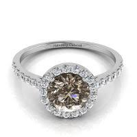 brown diamond engagement ring brown diamond fancy orangy brown 0 50 carat vs2 id 419312
