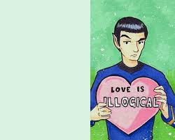 trek valentines day cards trek spock valentines day card print is illogical