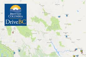 Map View See The Highway First With Drivebc Webcams The Alaska Highway