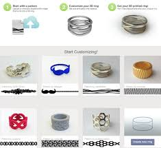 customize your own 3ders org design your own 3d printed ring with shapeways